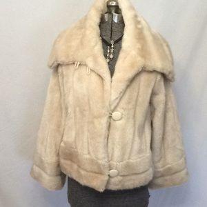 Vintage faux coat